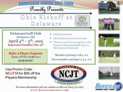 Ohio Kickoff at Delaware NCJT