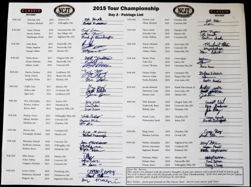 Jim Brown - TC2 Keepsakel 2015