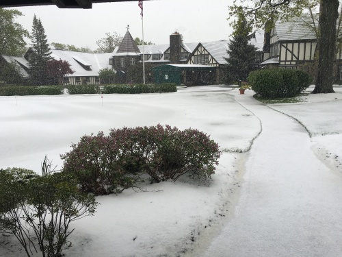 Snowy Mayfield CC on May 15, 2016